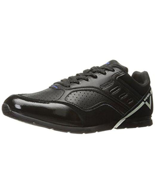 DIESEL - Black V-diction S-gloryy Fashion Sneaker for Men - Lyst