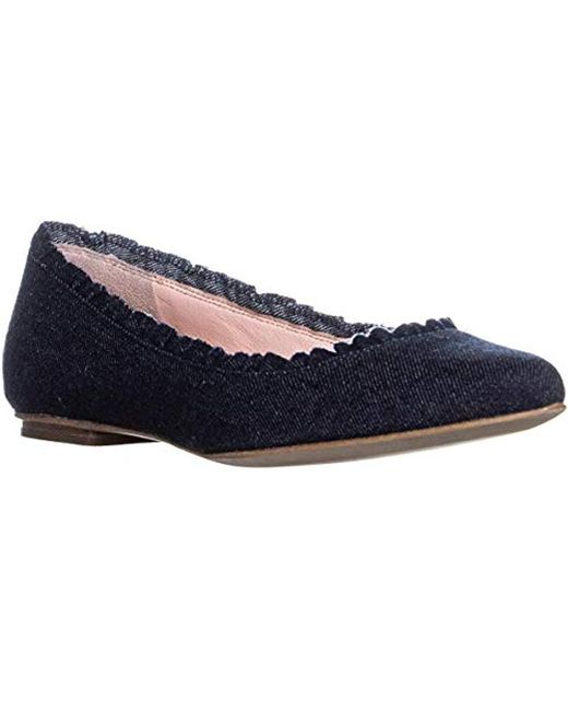 fce0d3cc935 Lyst - Kate Spade Nicole Loafer Flat in Blue - Save 51%