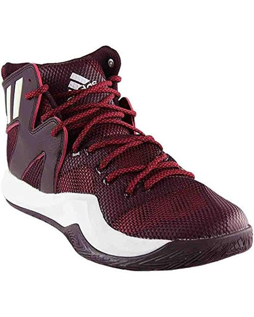 276d720ee7893 Adidas - Red Performance Crazy Bounce Basketball Shoe for Men - Lyst ...