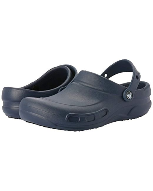 b4110e4c228b Crocs™ Unisex Adults  Bistro Clogs in Blue for Men - Save 30% - Lyst