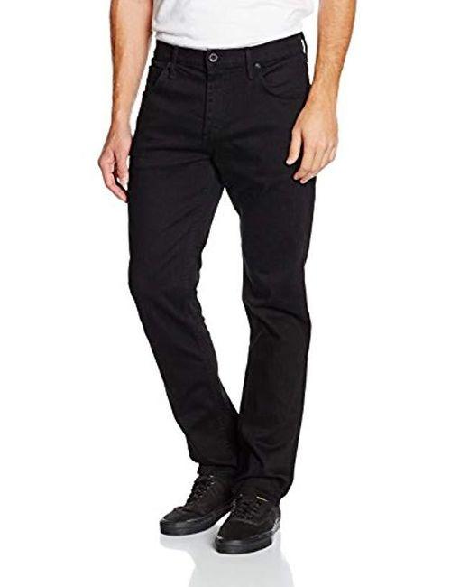 43d905a203 Vans - Black M V16 Slim Denim Jeans for Men - Lyst ...