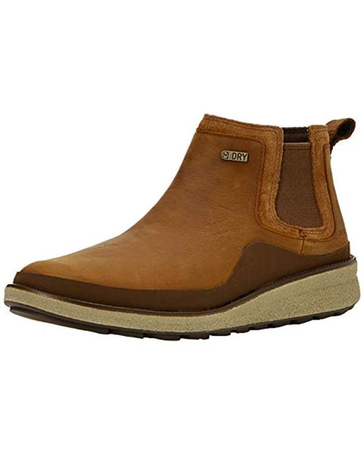 Merrell Brown Tremblant Ezra Chelsea Wp Boots