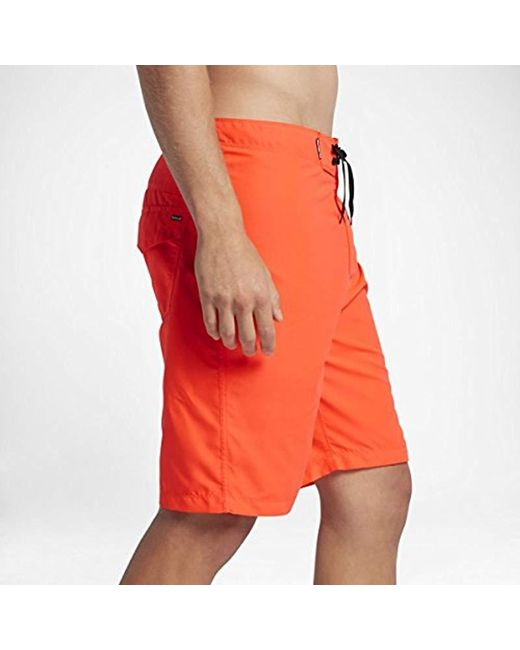 d75a94a735 ... Hurley - Orange One And Only 2.0 Board Short Black for Men - Lyst ...