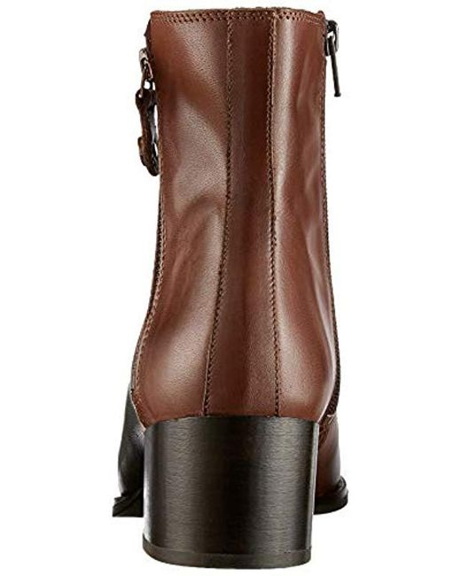 78d3f4b4a40045 Marc O polo  s Mid Heel Bootie Ankle Boots in Brown - Lyst