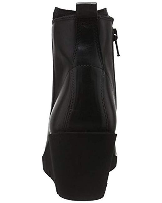 464987a49c8d Ecco  s Bella Wedge Ankle Boots in Black - Save 3% - Lyst