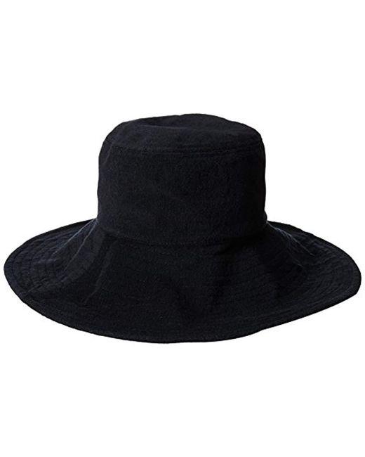 371df30e63b ... Gottex - Black Tara Micro-terry Packable Sun Hat
