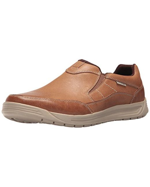 9e9adeb83d3c8b Rockport - Brown Randle Slip-on Sneaker for Men - Lyst ...