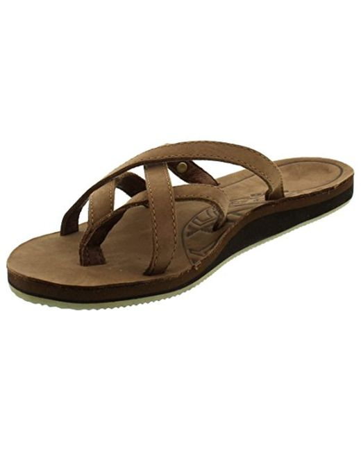 584d3eff7304d Teva - Brown Olowahu Leather W s