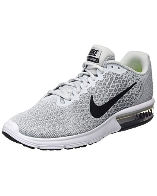 official photos 04e48 32eaa Nike - Gray Air Max Sequent 2 Gymnastics Shoes for Men - Lyst ...