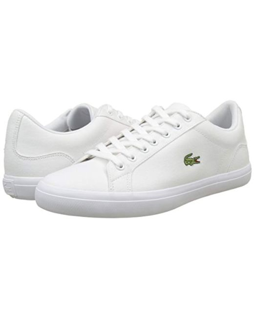 6c618faf2 ... Lyst Lacoste - White  s Lerond Bl 2 Cam Trainers for Men ...