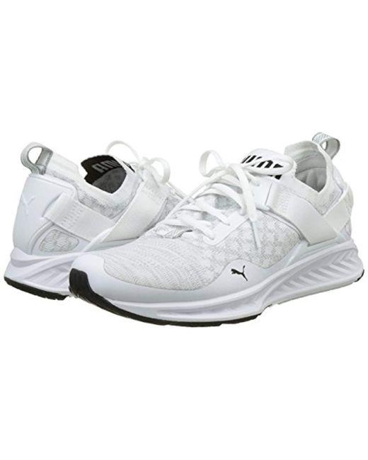59b1ff32b17 ... PUMA - White Ignite Evoknit Lo Training Shoes (189904) for Men - Lyst  ...