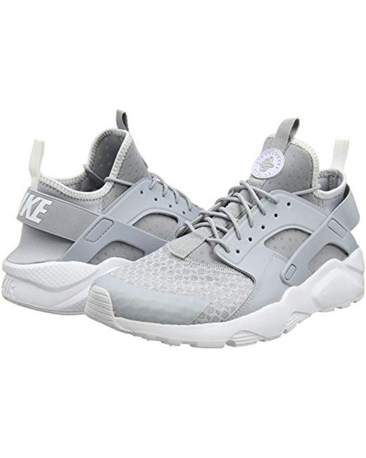 bdfea3748cb3c ... Nike - Gray Air Huarache Run Ultra Gymnastics Shoes for Men - Lyst ...