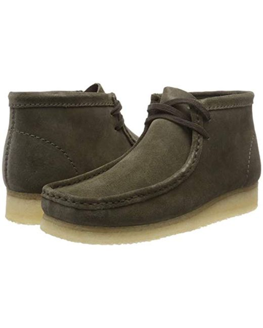 Men's Green Wallabee Boot Desert
