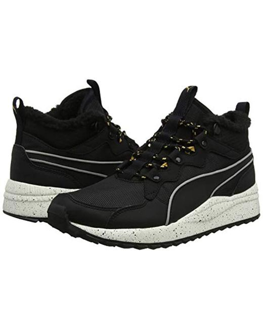 ... PUMA - Black Unisex Adults  Pacer Next Sb Wtr Hi-top Trainers for Men  ... fb5a5da94