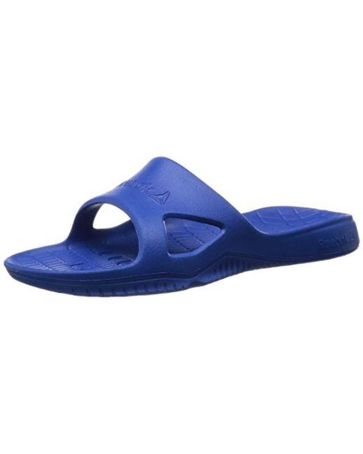 74a27b43d2d Reebok - Blue Kobo H2out s Bathing Sandals for Men ... order 08b49 92dd6   Winter Fashion Week Reebok Sport Kobo H2OUT Blue - Shoes Mules ...