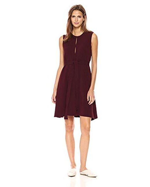 Theory - Red Desza B Dress - Lyst