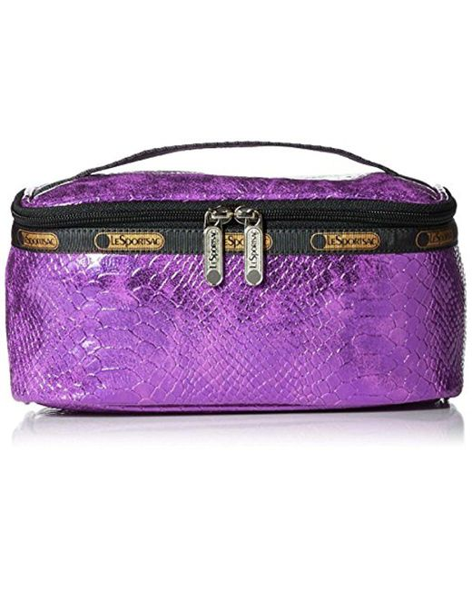 LeSportsac - Purple Classic Rectangular Cosmetic - Lyst