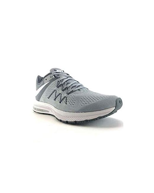 new concept 57202 a683b Men's Gray Zoom Winflo 3 Running Shoes