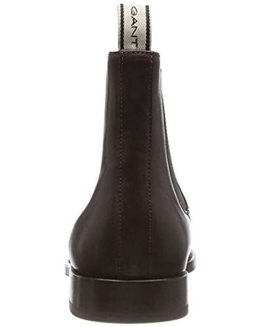 21d2ae08d47 ... Gant - Brown Max Chelsea Boots for Men - Lyst ...