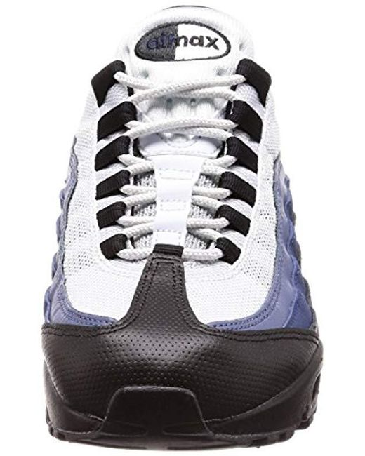 9c4b73e89e ... Nike - Blue Air Max 95 Essential Low-top Sneakers for Men - Lyst ...
