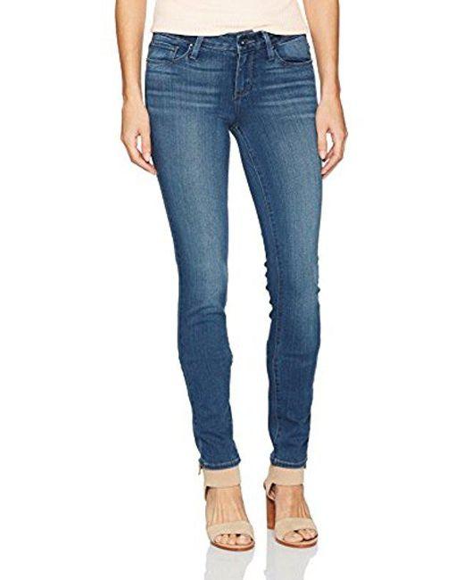 PAIGE - Blue Verdugo Ultra Skinny Jeans Vida - Lyst