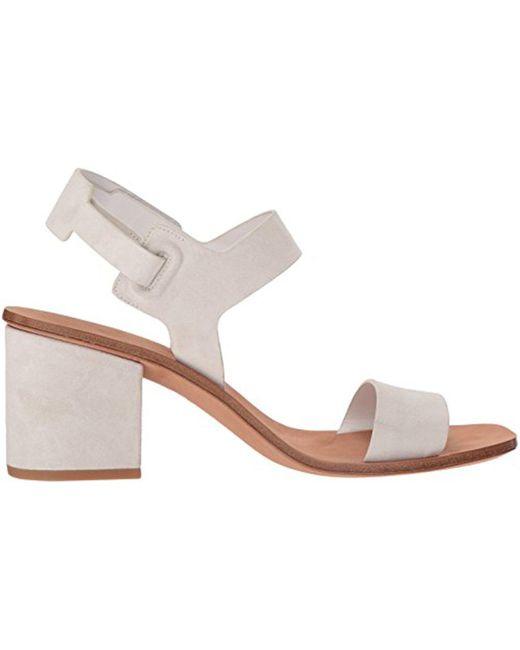 Kamille Suede Block Heel Sandals o6Y7REYo
