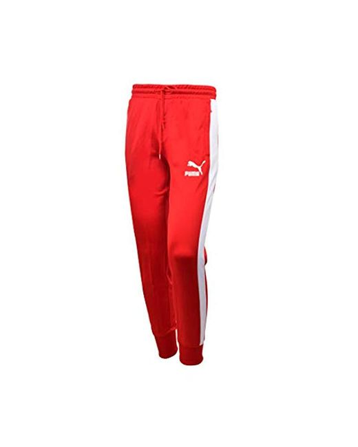 c9ca1a96ebd6 PUMA - Red Archive T7 Track Pants for Men - Lyst ...