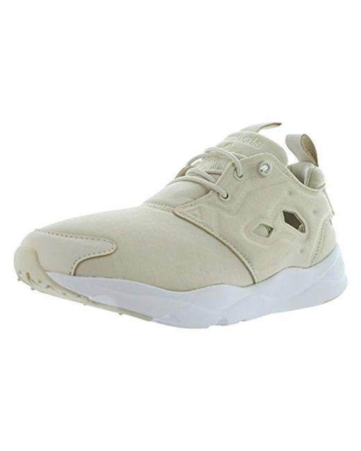 Reebok - White Furylite Jersey Fashion Sneaker - Lyst