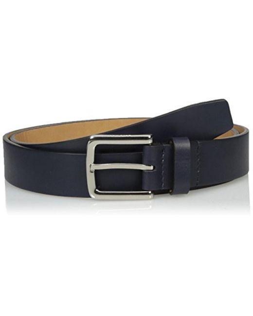Cole Haan - Blue Washington Grand 32mm Smooth Belt for Men - Lyst