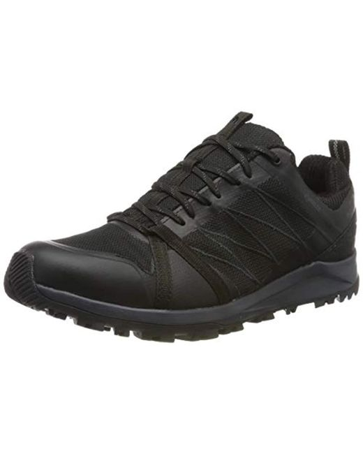 cf19a52523 The North Face M Lw Fp Ii Gtx Low Rise Hiking Boots in Black for Men ...
