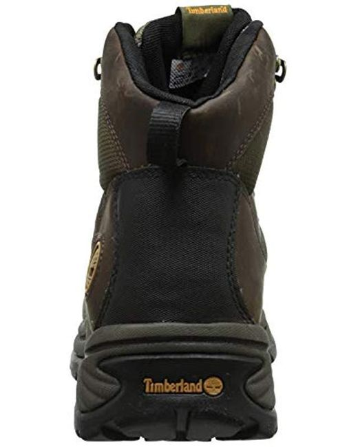 415e40ea0bc Timberland - Chocorua Trail Mid Waterproof Hiking Boot, Black for Men - Lyst