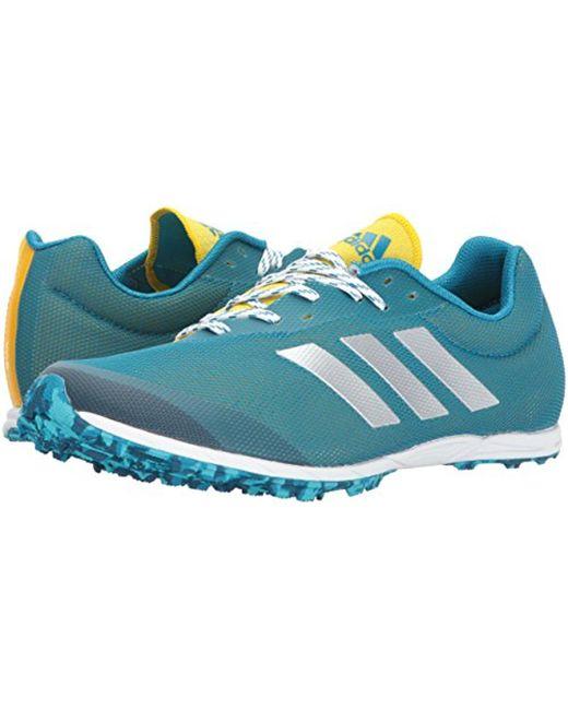 ... Adidas Originals - Blue Xcs Spikeless Running Shoe for Men - Lyst ...