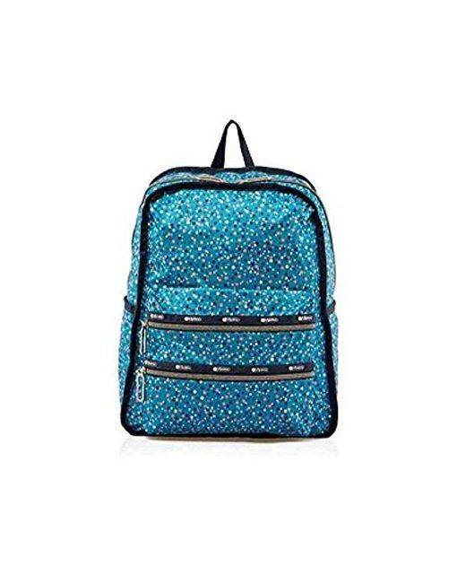 LeSportsac - Blue Essential Functional Backpack - Lyst