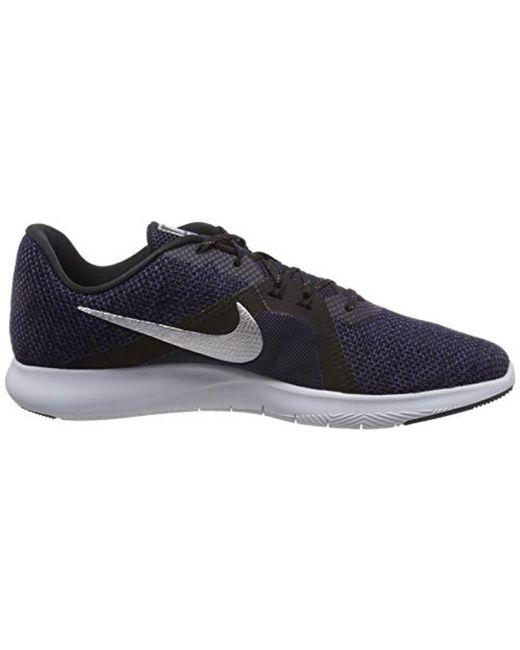 723b4356629d ... Lyst Nike - Blue  s W Flex Trainer 8 Prm Fitness Shoes ...