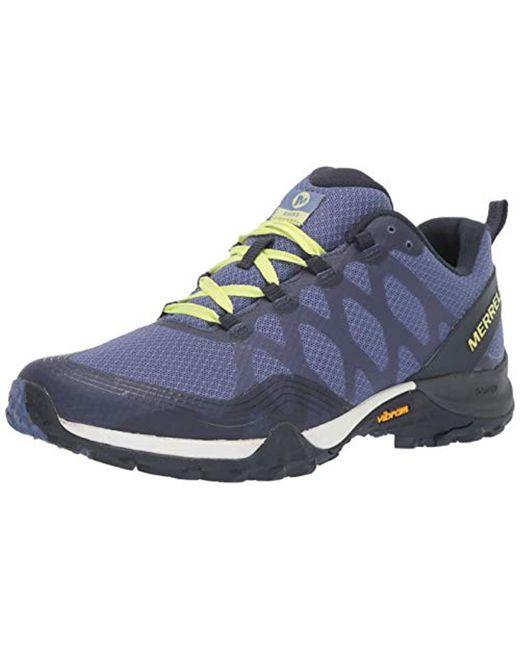 Merrell White Pine Ventilator Mens Shoes Trekking Hiking Leather Trainers J09587