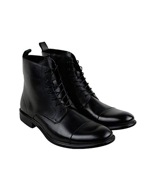 Kenneth Cole Reaction - Black Design 20625 Combat Boot for Men - Lyst