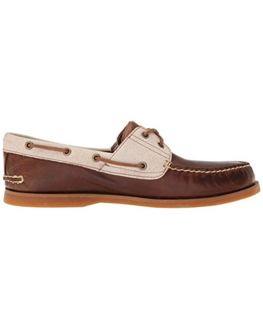 Timberland Classic Boat 2 Eyerubber Chaos Wcroissant Mystic