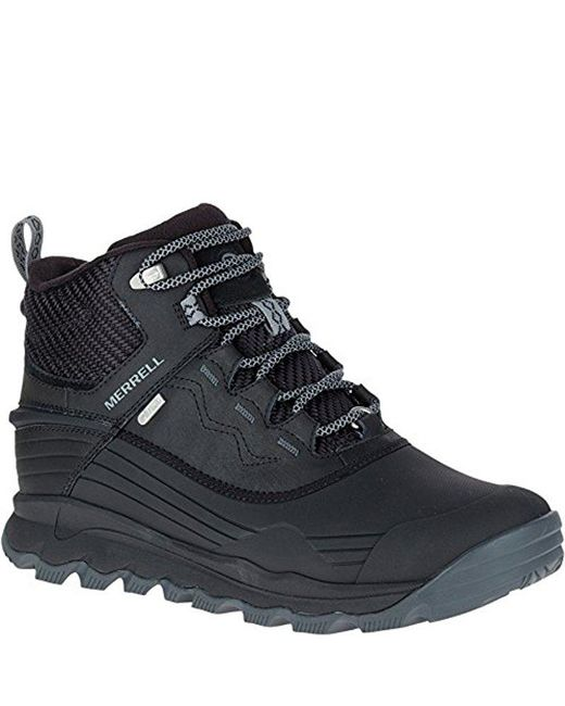 "Merrell - Black Thermo Vortex 6"" Waterproof Snow Boot for Men - Lyst"