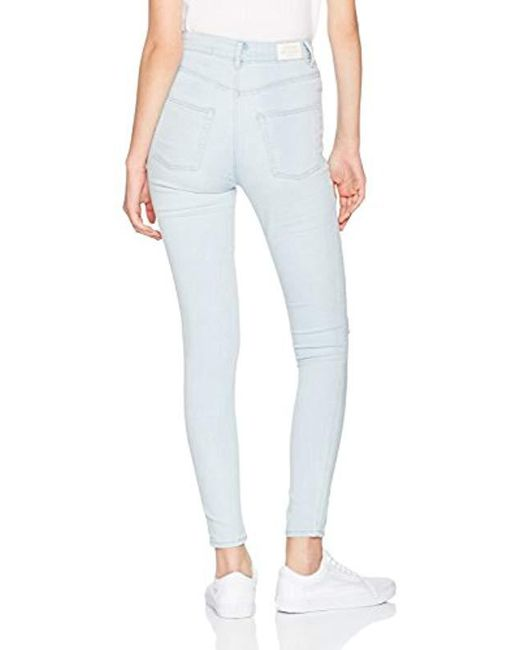 62af2c44ee2 Cheap Monday High Spray Avalanche Skinny Jeans in Blue - Save 52% - Lyst