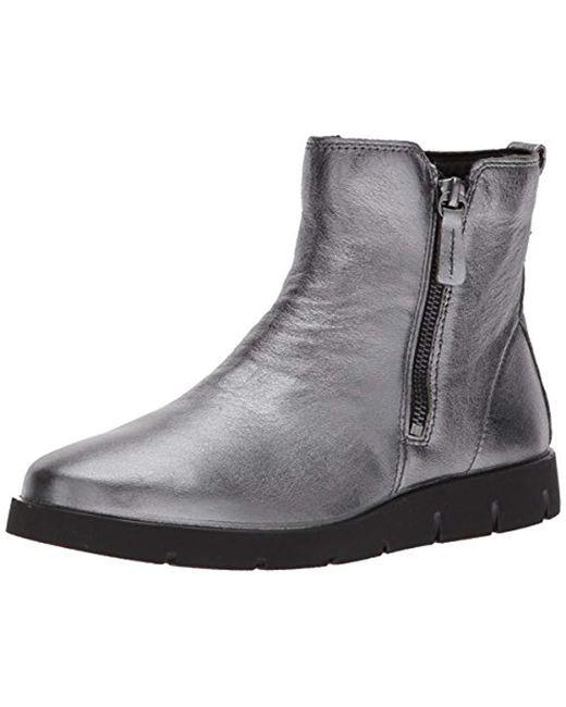 5b2590892cc4 Ecco Bella Boots in Gray - Save 34% - Lyst
