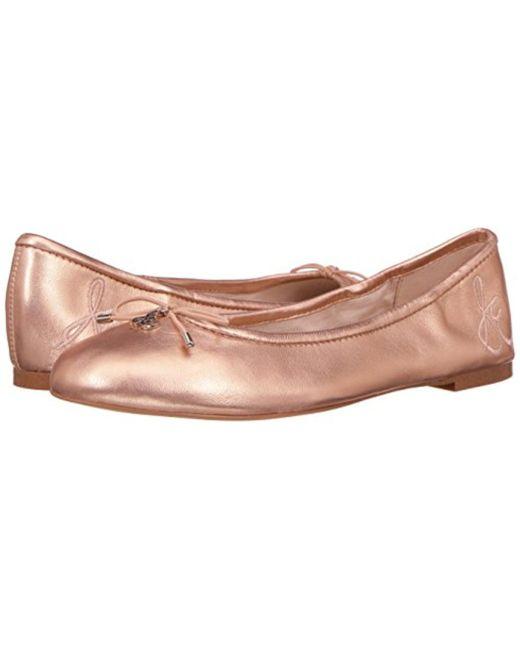 3ab01176469df ... Sam Edelman - Pink Felicia Ballet Flat - Lyst ...