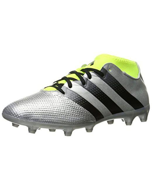 06430703e64 Adidas - Metallic Performance Ace 16.3 Primemesh Fg ag Soccer Cleat for Men  - Lyst ...