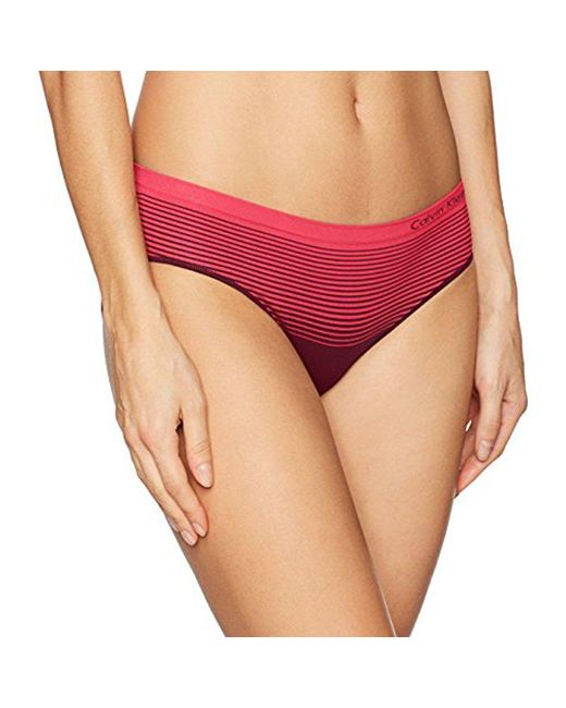 Calvin Klein - Red Seamless Illusions Hipster - Lyst