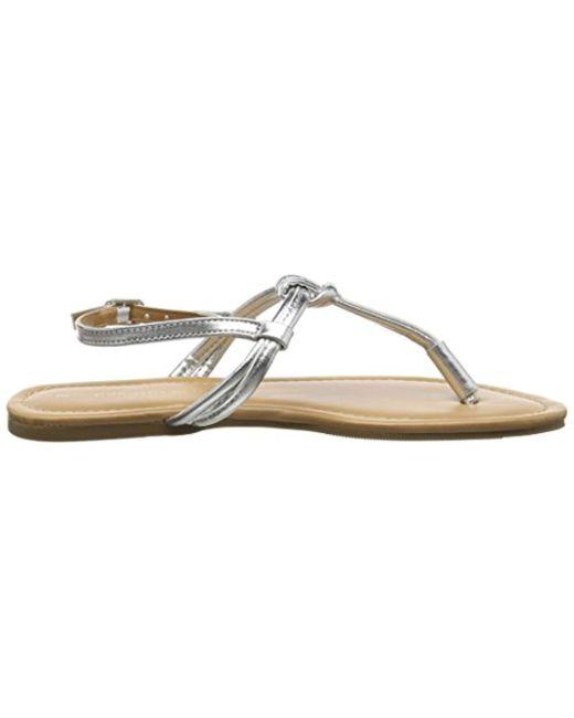 6d9026d70 ... Dorothy Perkins - Metallic Florence T-bar Sandals - Lyst ...