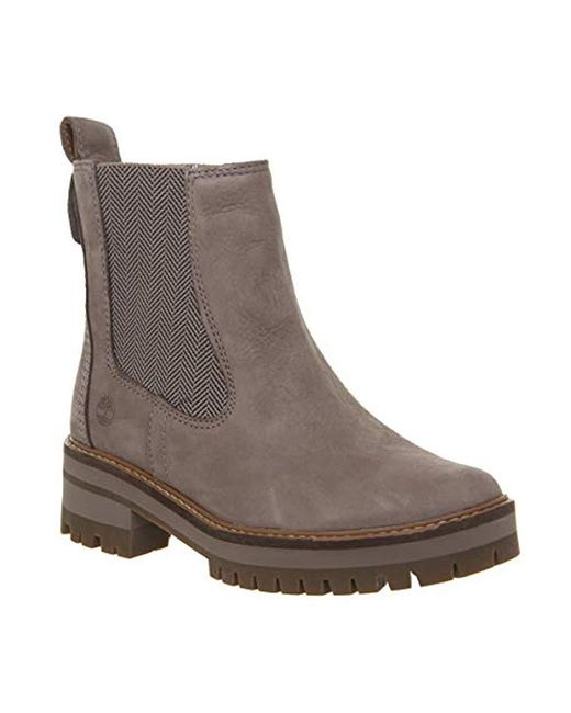 Timberland - Gray Unisex Adults' Courmayeur Valley Chelsea A1j5u Classic Boots - Lyst