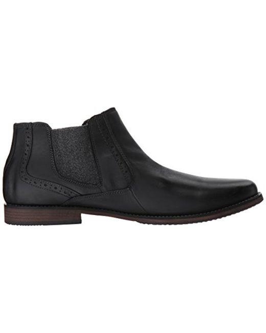 ... Steve Madden - Black Paxton Chelsea Boot for Men - Lyst ...