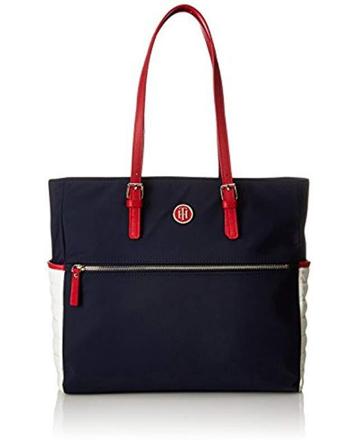 a814b186389 Tommy Hilfiger Chic Nylon Tote Tote in Blue - Save ...
