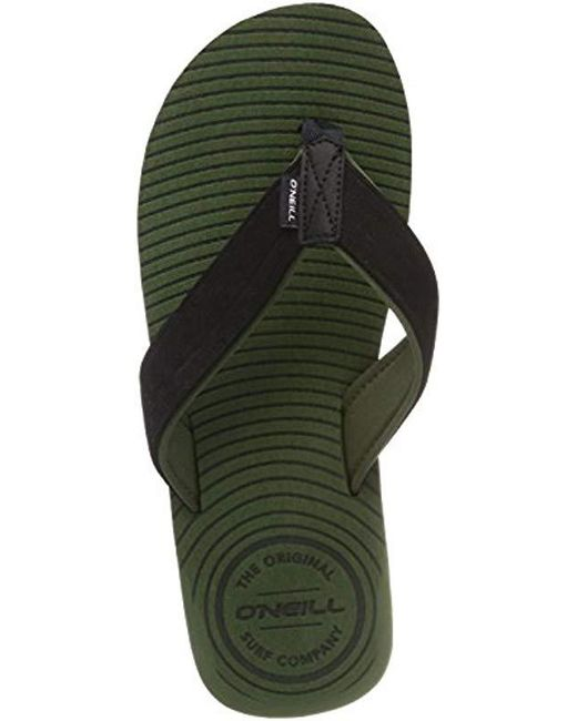 0abfafadf O neill Sportswear Fm Koosh Slide Flip Flops in Green for Men - Lyst