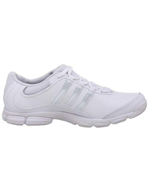 promo code cdf7f fad1d Lyst Adidas - White Cheer Sport Cross-trainer Shoe ...