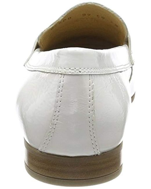 Geox  s D Marlyna B Loafers in White - Lyst 1a29efed0575